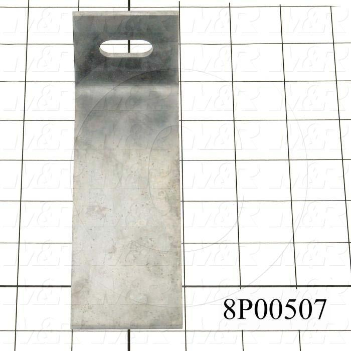 Fabricated Parts, Pallet Locating Spring, 5.75 in. Length, 2.00 in. Width, 2.00 in. Height
