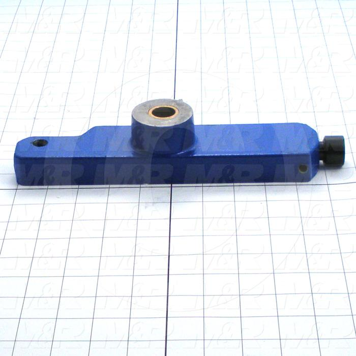 Fabricated Parts, Pallet Locator Assembly, 10.66 in. Length, 2.25 in. Width, 1.00 in. Height, Right Side