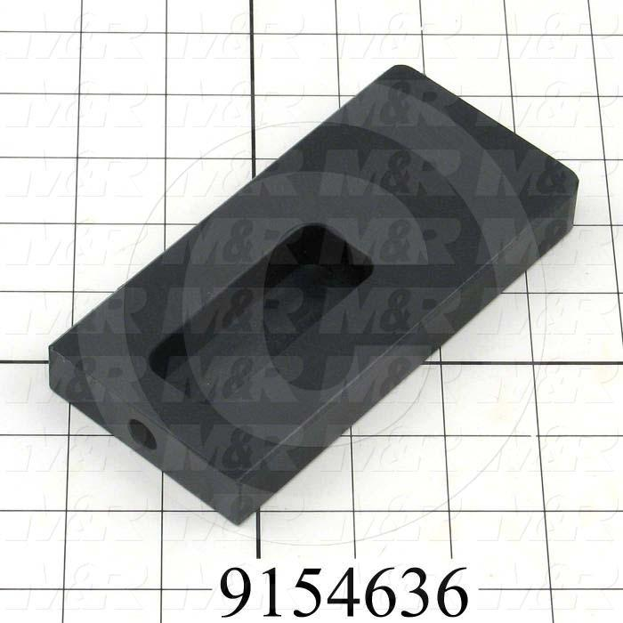 Fabricated Parts, Pallet Stop, 5.75 in. Length, 2.75 in. Width, 0.75 in. Height