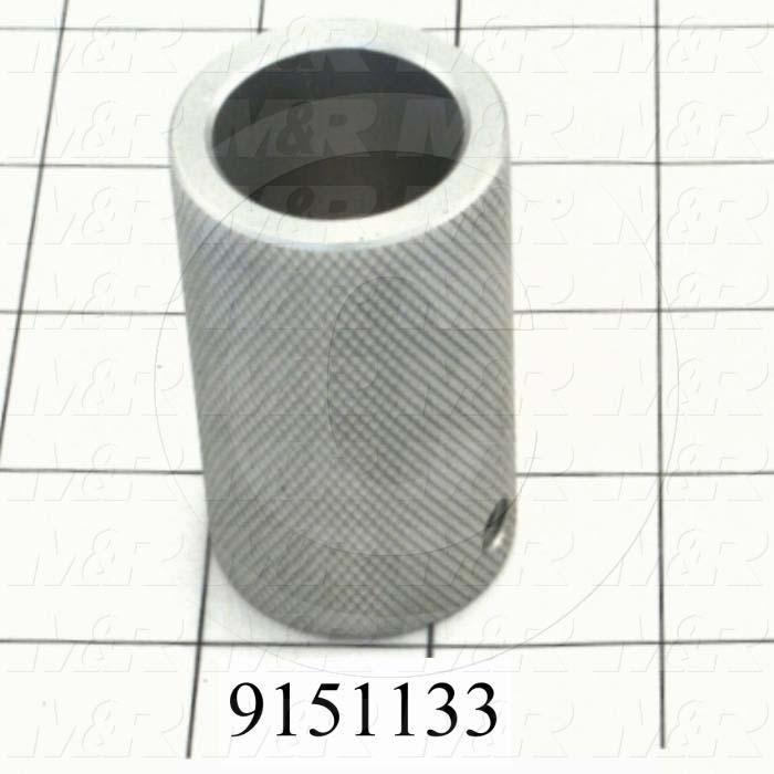 Fabricated Parts, Pallet Stop Knob, 2.38 in. Length, 1.38 in. Diameter
