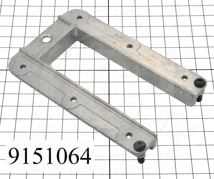 Fabricated Parts, Pallet Support Bracket, 10.00 in. Length, 5.19 in. Width