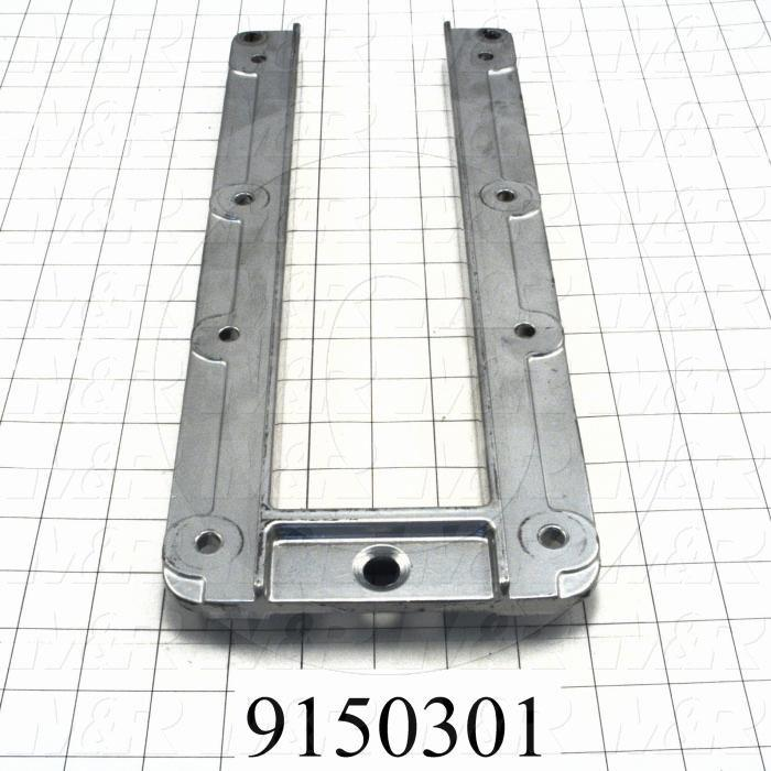 Fabricated Parts, Pallet Support Bracket, 15.00 in. Length, 6.14 in. Width, 1.18 in. Height