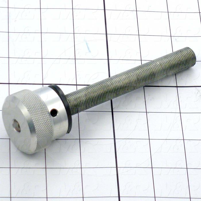 Fabricated Parts, Peel Adjust Rod Assembly, 6.25 in. Length, 5/8-18 Thread Size