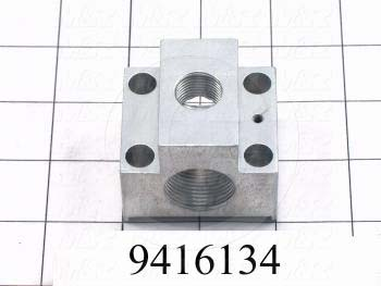 Fabricated Parts, Peel Adjusting Block, 1.75 in. Length, 1.85 in. Width, 1.62 in. Height