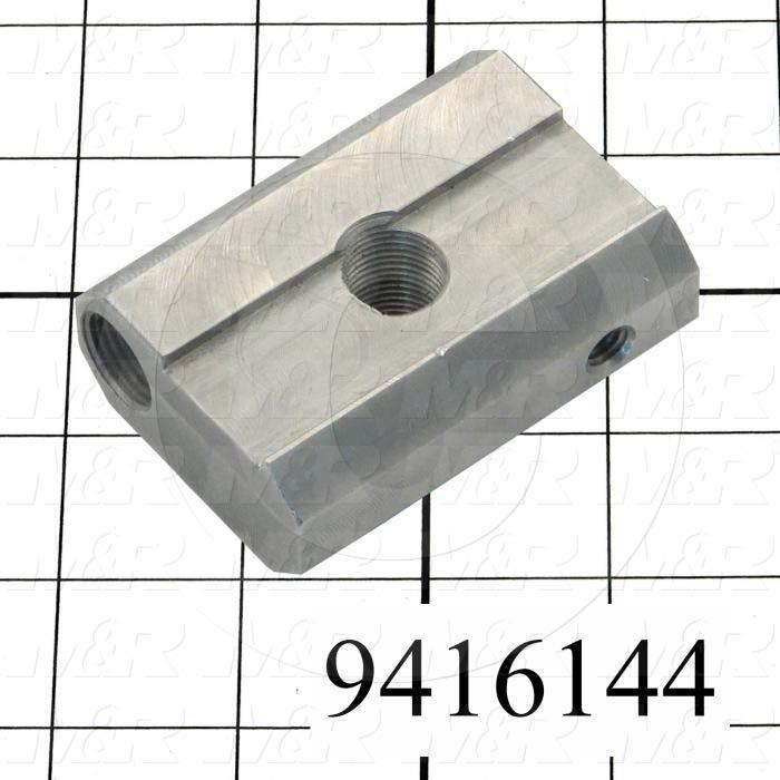 Fabricated Parts, Peel Bracket Insert, 2.50 in. Length, 1.62 in. Width, 1.98 in. Height