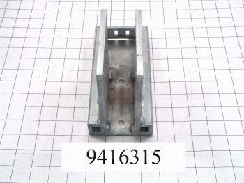 Fabricated Parts, Peel Cover, 7.63 in. Length, 2.39 in. Width, 2.51 in. Height