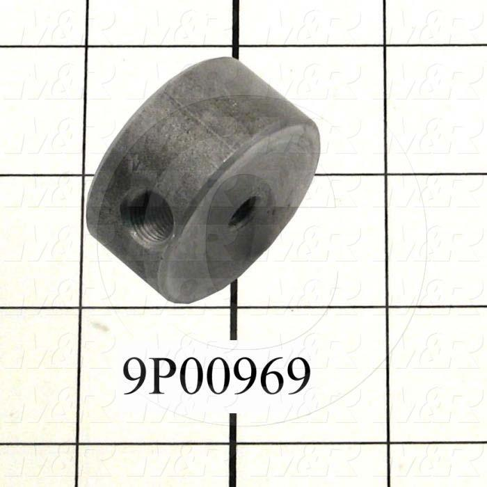 Fabricated Parts, Peel Lever Nut Block, 1.50 in. Diameter
