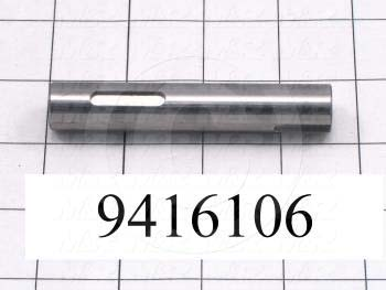 Fabricated Parts, Peel Pivot Shaft, 3.56 in. Length, 0.63 in. Diameter