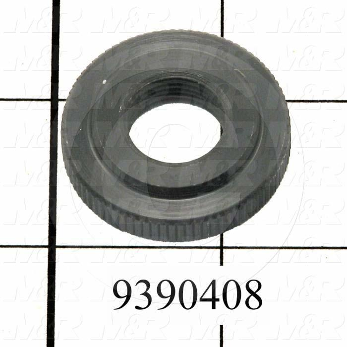 Fabricated Parts, Peel Regulator Counter-knob, 1.38 in. Diameter, 0.31 in. Thickness