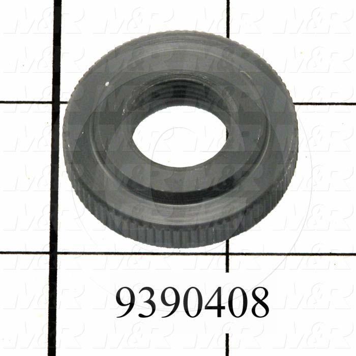 Fabricated Parts, Peel Regulator Counter-knob, 1.38 in. Diameter, 0.31 in. Thickness