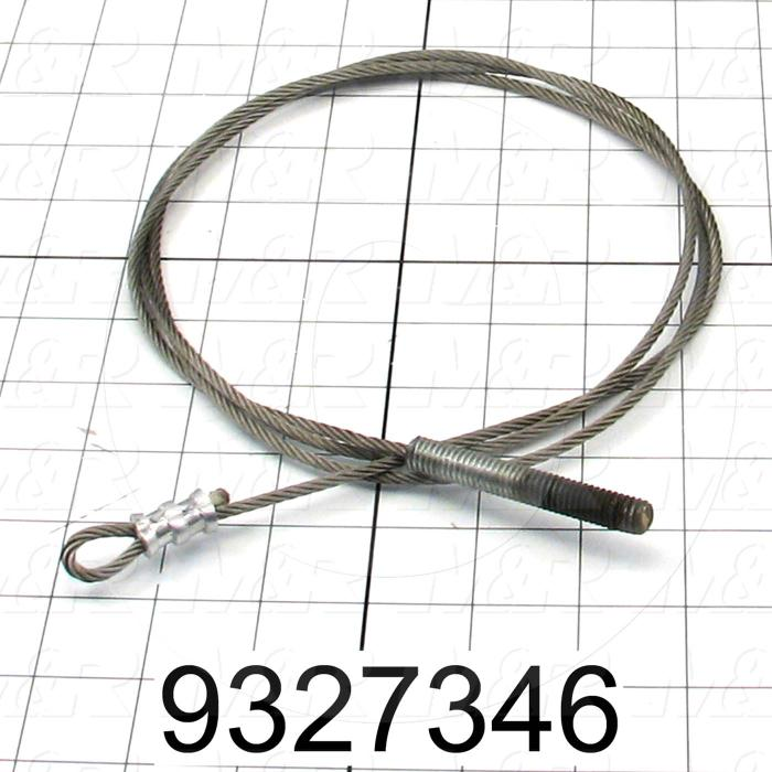 Fabricated Parts, Peel Rope Assembly, 65.50 in. Length