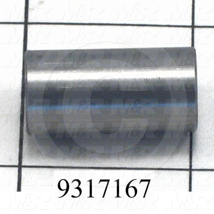 Fabricated Parts, Pin Connector, 1.00 in. Length, 0.50 in. Diameter