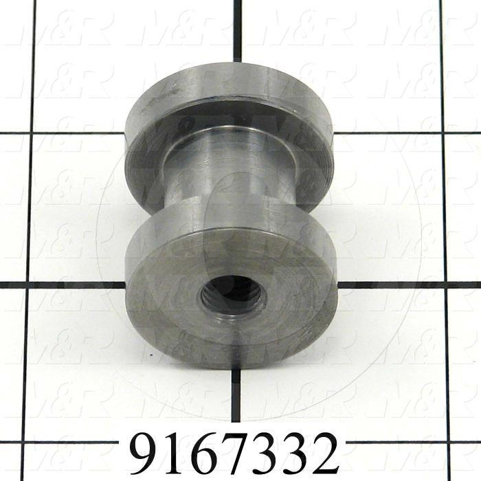 Fabricated Parts, Pin Drive Engage Bushing, 1.08 in. Length, 1.00 in. Diameter
