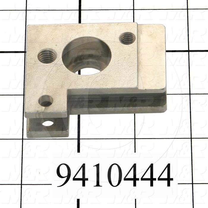 Fabricated Parts, Pivot Block, 2.50 in. Length, 2.00 in. Width, 0.75 in. Height, Left Side