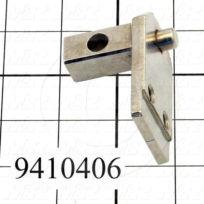 Fabricated Parts, Pivot Shaft, 2.50 in. Length, 1.50 in. Width, 1.94 in. Height