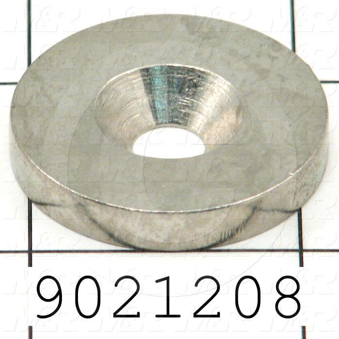 Fabricated Parts, Plate Lock Washer, 1.20 in. Diameter, 0.16 in. Thickness