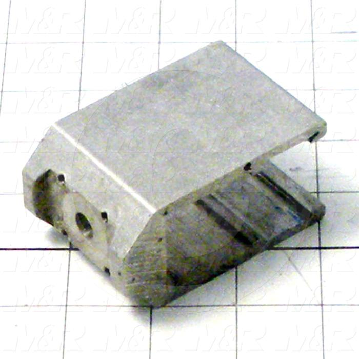 Fabricated Parts, Pneumatic Clamp, 3.01 in. Length, 2.00 in. Width, 1.52 in. Height
