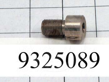 Fabricated Parts, Post, 1.25 in. Length, 0.75 in. Diameter