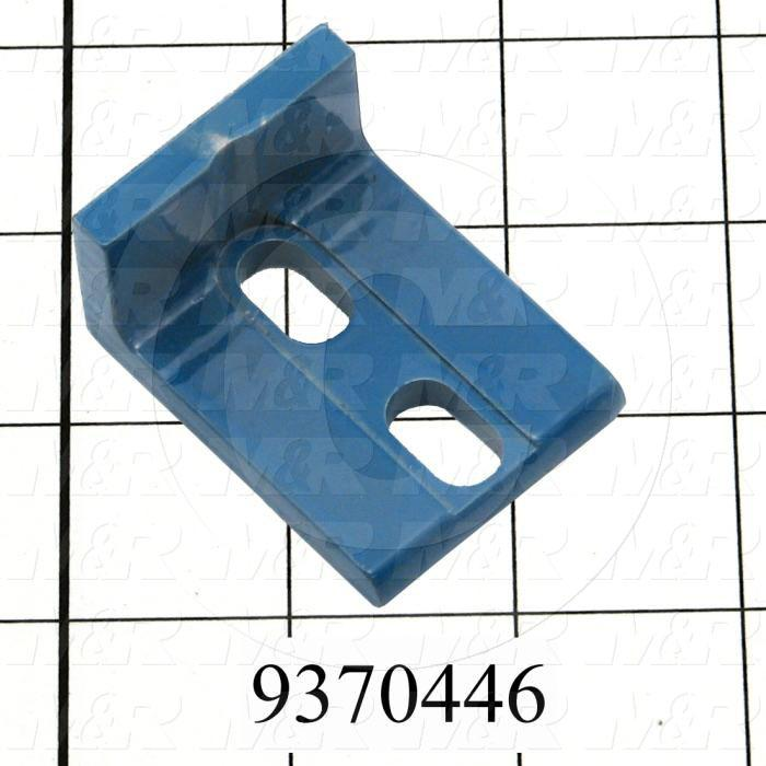 Fabricated Parts, Print Head Register Block, 1.98 in. Length, 1.50 in. Width, 1.00 in. Height, 1/4 in. Thickness