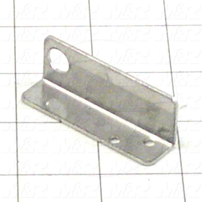 Fabricated Parts, Proximity Home Bracket, 2.10 in. Length, 0.75 in. Width, 0.55 in. Height