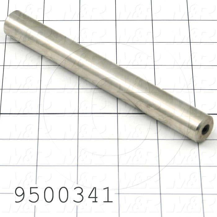 Fabricated Parts, Pusher, 6.75 in. Length, 0.75 in. Diameter