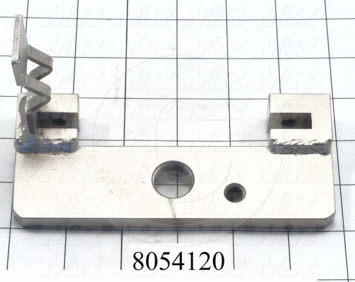 Fabricated Parts, Rear Adjustment Bracket, 5.75 in. Length, 3.53 in. Width, 2.30 in. Height