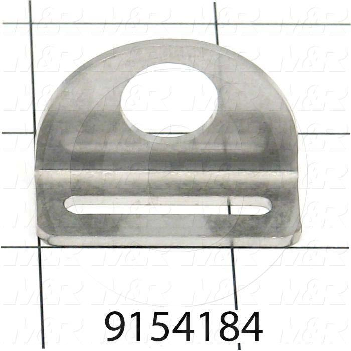 Fabricated Parts, Rear Half Holder, 1.38 in. Length, 0.63 in. Width, 0.88 in. Height