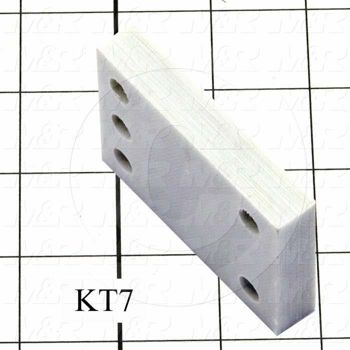 Fabricated Parts, Rear Lamp Holder Mounting, 2.82 in. Length, 2.00 in. Width, 0.50 in. Thickness