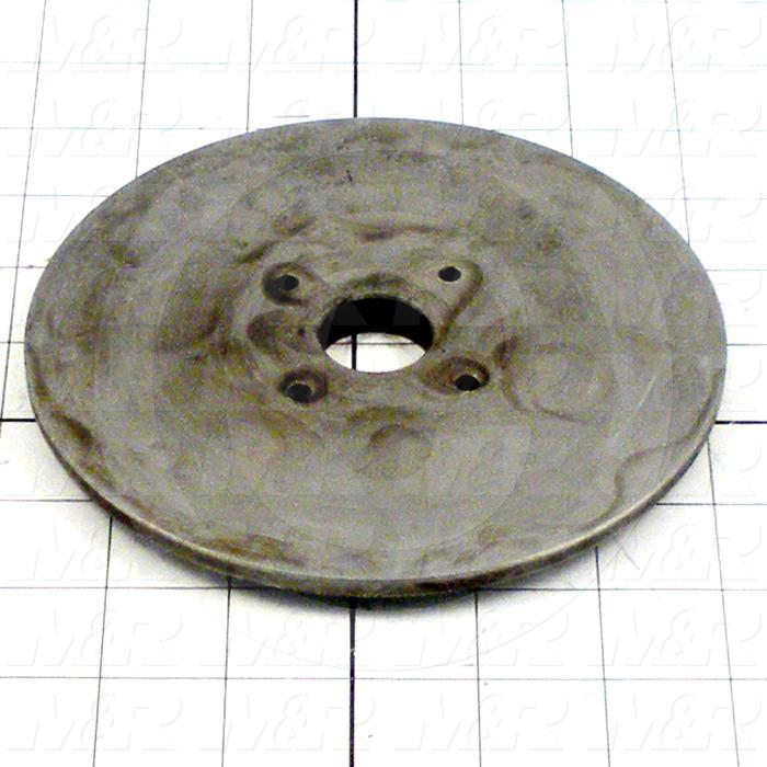 Fabricated Parts, Rear Lower Sealing Disc, 6.00 in. Diameter, 0.43 in. Thickness