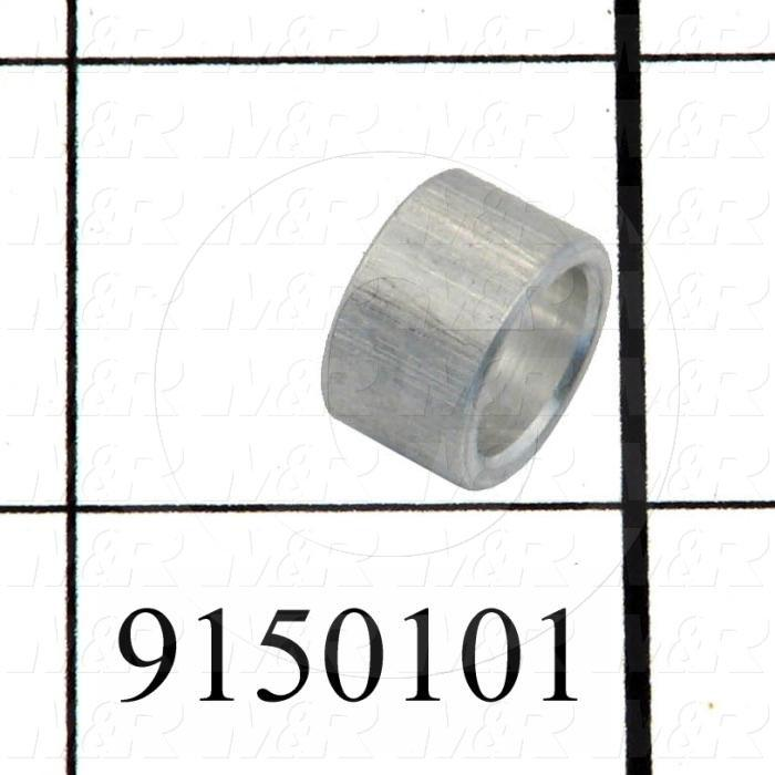 Fabricated Parts, Rear Micro Bushing, 0.28 in. Length, 0.50 in. Diameter