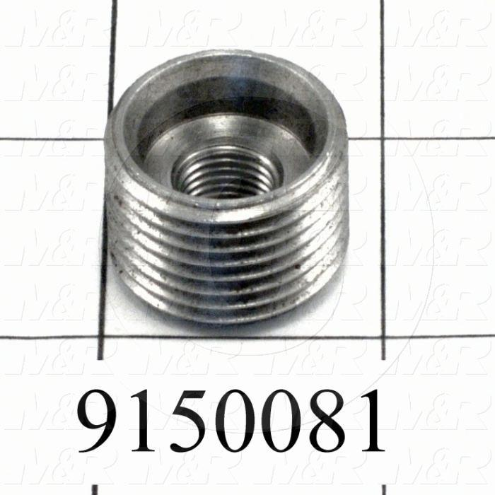 Fabricated Parts, Rear Micro Lock Bolt, 0.63 in. Length, 7/8-14 Thread Size