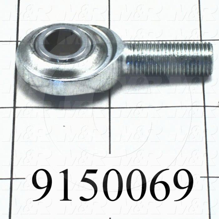 Fabricated Parts, Rear Micro Mounting Rod End, 2.08 in. Length, 0.83 in. Diameter