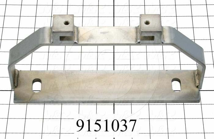 Fabricated Parts, Rear Mounting Bracket, 11.25 in. Length, 2.25 in. Width, 5.25 in. Height