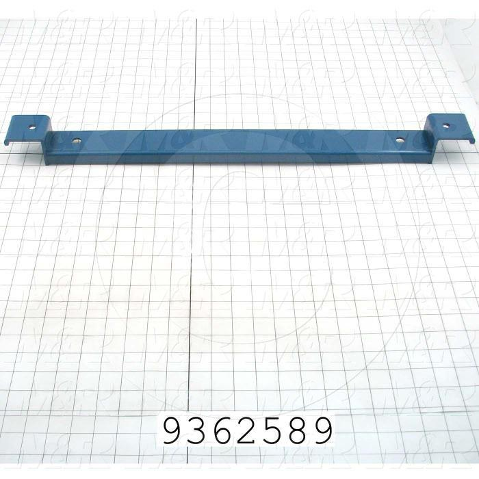Fabricated Parts, Rear Screen Holder Beam, 26.91 in. Length, 2.00 in. Width, 2.25 in. Height