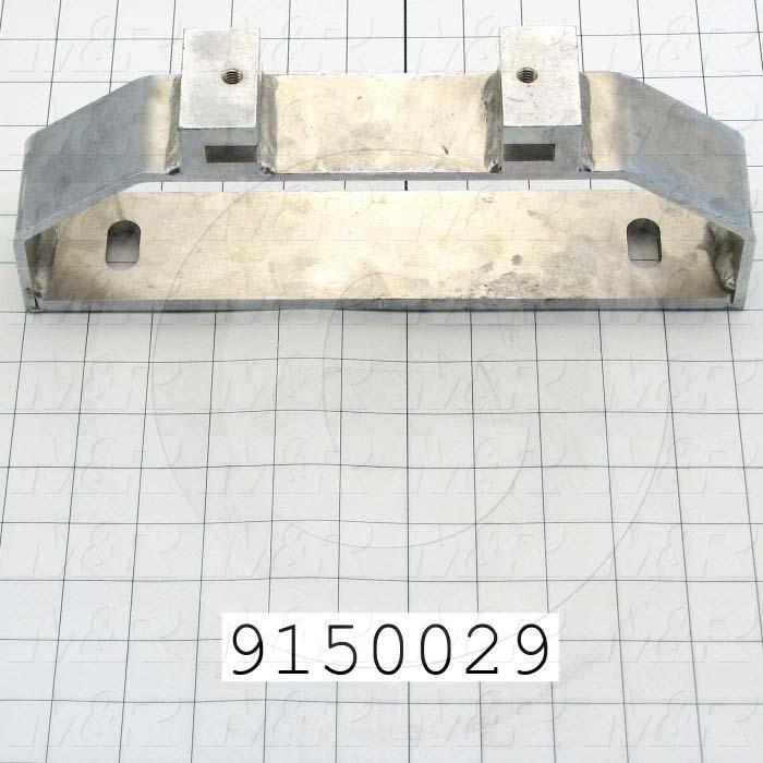 Fabricated Parts, Rear Screen Holder Bracket, 11.25 in. Length, 2.25 in. Width, 4.25 in. Height
