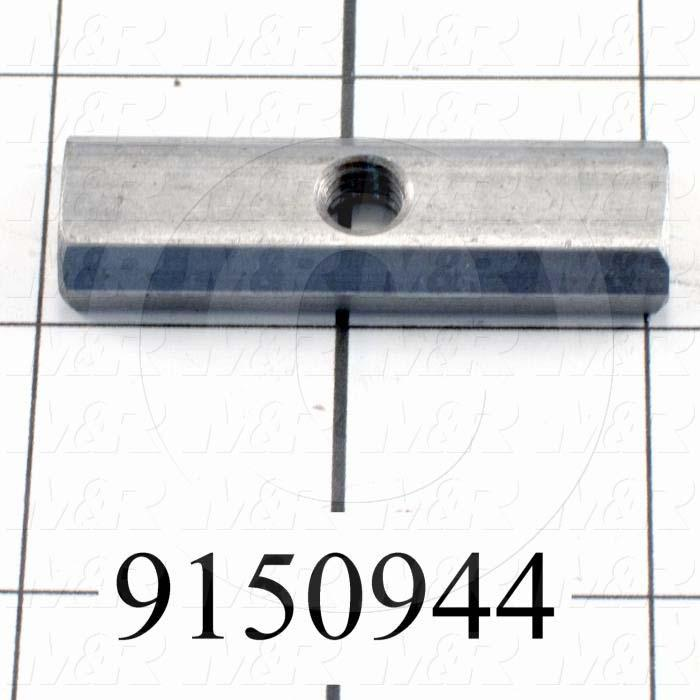 Fabricated Parts, Rear Screen Holder T-Nut, 2.00 in. Length, 0.63 in. Width, 0.25 in. Height