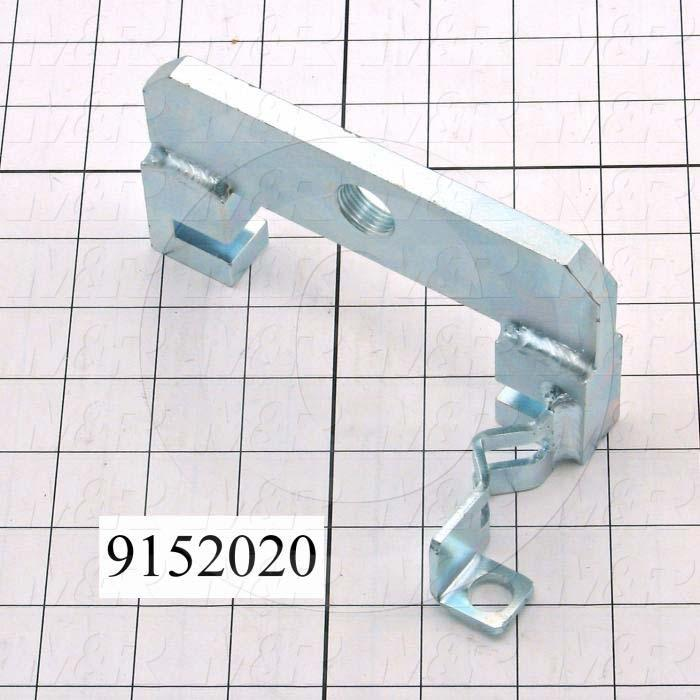 Fabricated Parts, Rear Shock Mounting Bracket, 5.75 in. Length, 3.00 in. Width, 3.00 in. Height