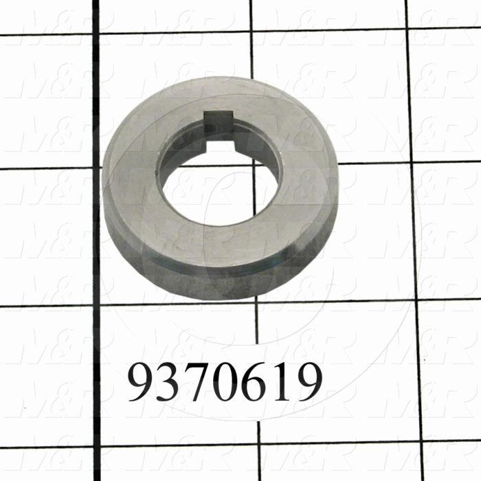Fabricated Parts, Rear Sprocket Spacer, 1.50 in. Diameter, 0.38 in. Thickness