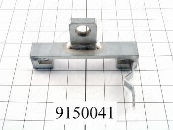 Fabricated Parts, Rear Stroke Adjust Bracket, 5.75 in. Length, 3.31 in. Width, 3.00 in. Height