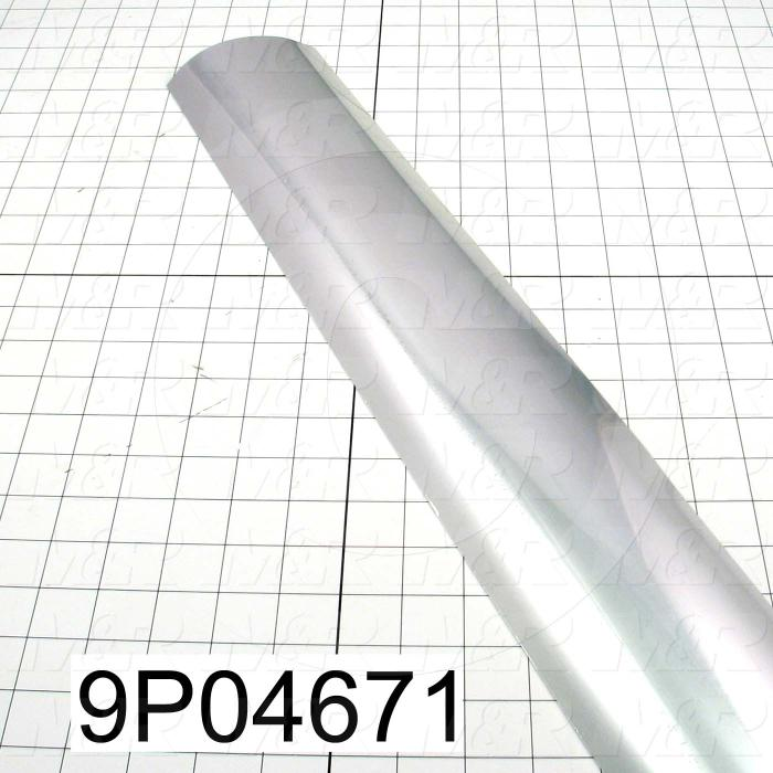 Fabricated Parts, Reflector Insert, 30.25 in. Length, 4.13 in. Diameter