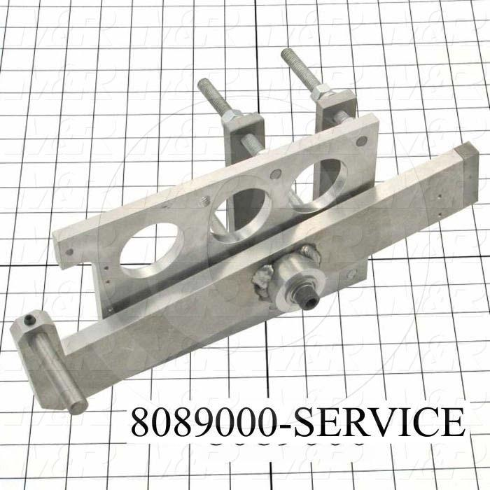 Fabricated Parts, Registration Device Assembly, 13.25 in. Length, 6.00 in. Width, 6.63 in. Height