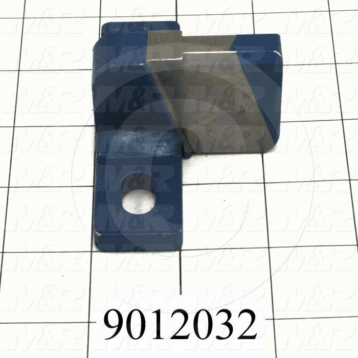 Fabricated Parts, Registration Fork, 3.50 in. Length, 1.56 in. Width, 1.63 in. Height