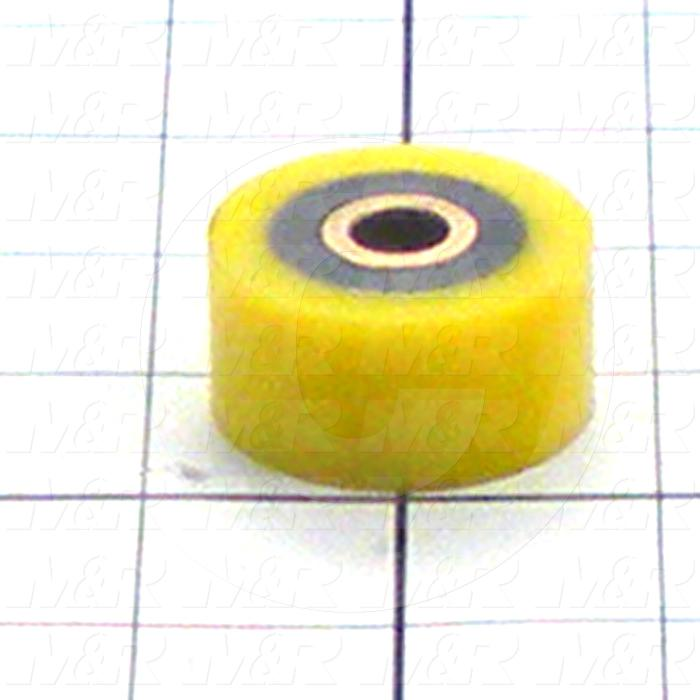 Fabricated Parts, Resilient Bushing, 0.75 in. Length, 1.50 in. Diameter