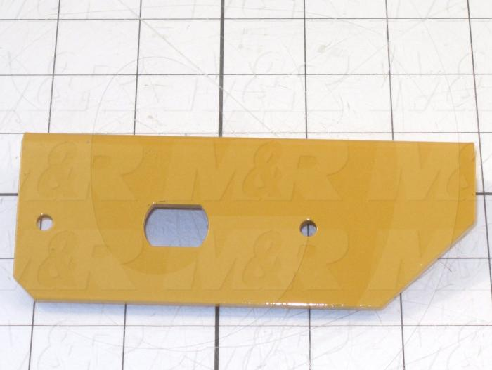 Fabricated Parts, Right Optical Bracket, 5.00 in. Length, 2.80 in. Width, 1.00 in. Height