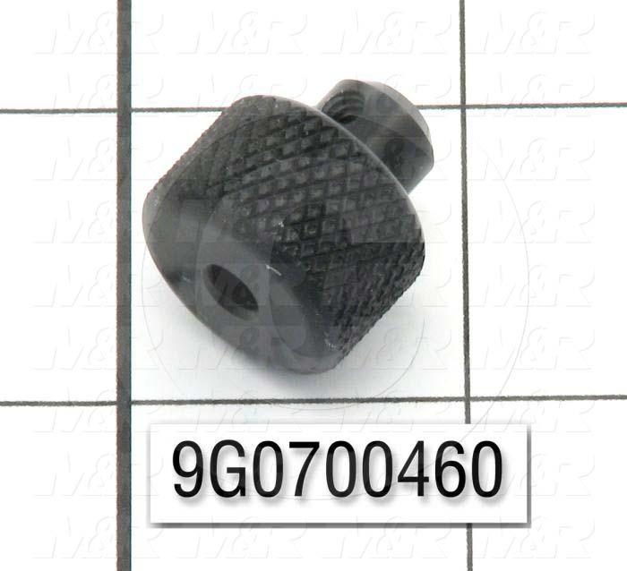 Fabricated Parts, Roller Knob, 0.78 in. Length, 0.75 in. Diameter