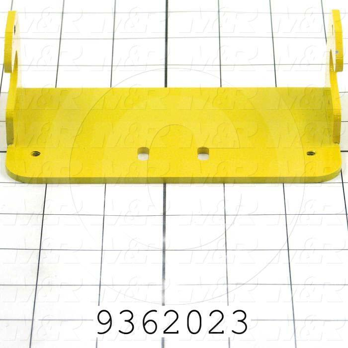 Fabricated Parts, Safety Beam Bracket, 5.73 in. Length, 3.00 in. Width, 2.06 in. Height
