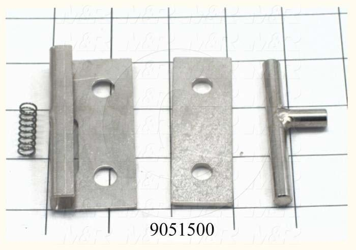 Fabricated Parts, Safety Lock Assembly, 3.77 in. Length, 1.14 in. Width, 1.42 in. Height