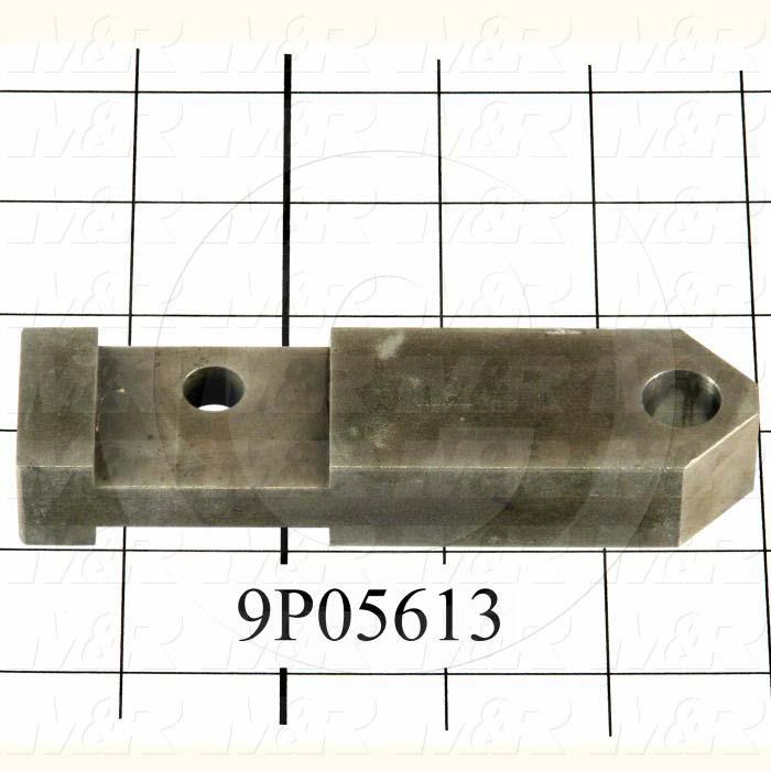 Fabricated Parts, Safety Lock Lever Arm, 4.75 in. Length, 1.25 in. Width, 0.75 in. Thickness