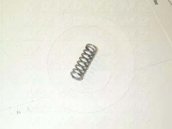Fabricated Parts, Safety Lock Spring, 0.90 in. Length, 0.30 in. Diameter