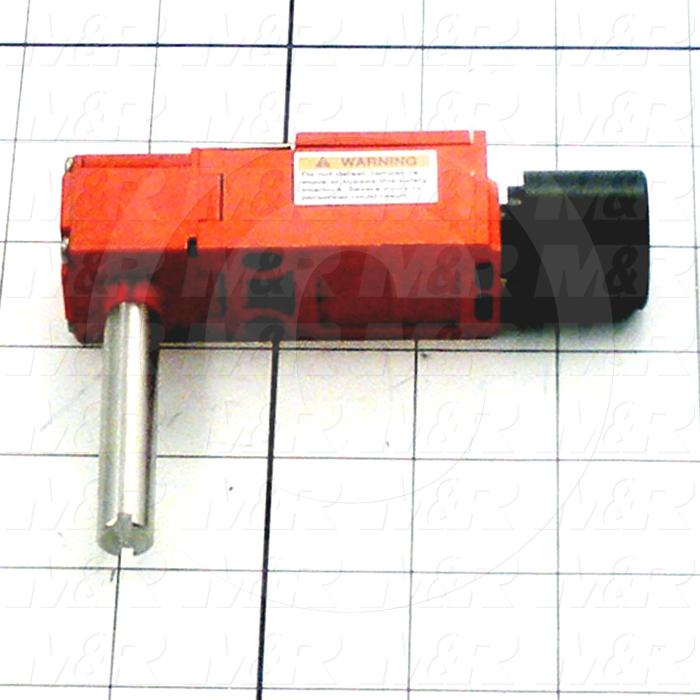 Fabricated Parts, Safety Switch, 2.95 in. Length, 0.98 in. Width, 2.04 in. Height